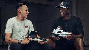 Neymar Jr and Michael Jordan (2)