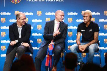 جيليت تعلن شراكة عالمية مع نادي برشلونة لكرة القدم