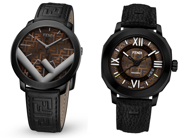 432a6190d Fendi Timepieces: ساعات معاصرة تحتفي بشعار FF الأيقوني – أنا شرقي
